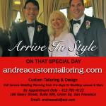 Andrea Custom Tailoring LGBT Ad
